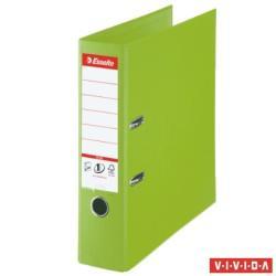 Esselte Standard Plus Vivida Iratrendező 80 mm A4 PP/PP élvédő sínnel zöld (81186)