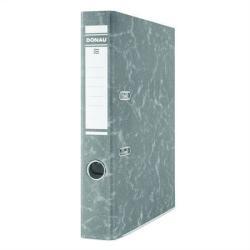 DONAU Eco Iratrendező 50 mm A4 karton élvédő sínnel fekete (3847FK)
