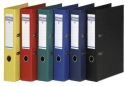 DONAU Premium Iratrendező 50 mm A4 PP élvédő sínnel kék (3955K)