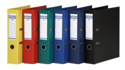 DONAU Premium Iratrendező 75 mm A4 PP élvédő sínnel kék (3975K)