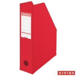Esselte Vivida Iratpapucs 80 mm PP/karton összehajtható piros (56003)