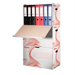 Esselte Standard Archiváló konténer előre nyíló karton fehér (10964)