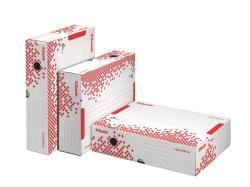 Esselte Speedbox Archiváló doboz 80 mm A4 felfelé nyíló karton fehér (623910)