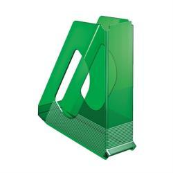 Esselte Europost Iratpapucs műanyag 68 mm áttetsző zöld (623700)