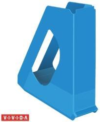Esselte Europost Vivida Iratpapucs műanyag 68 mm kék (623937)