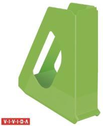 Esselte Europost Vivida Iratpapucs 68 mm műanyag zöld (623938)