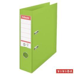 Esselte Standard Vivida Iratrendező 75 mm A4 PP/PP élvédő sínnel zöld (624069)