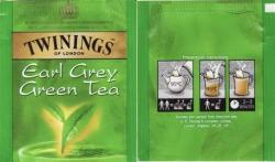 TWININGS Earl Grey Zöld Tea 25 Filter