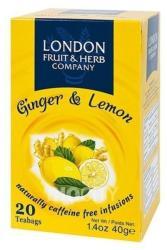 London Fruit & Herb Company Citrom-gyömbér 20 filter