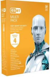 ESET Smart Security MultiPack (4 PC, 1 Year)