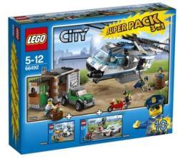 LEGO City - Rendőrség - Szupercsomag (3 az 1-ben) (66492)