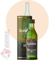 Glenfiddich 12 Years Whiskey 0,05L 40%