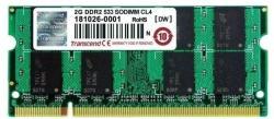 Transcend 2 GB DDR2-533MHz TS256MSQ64V5U