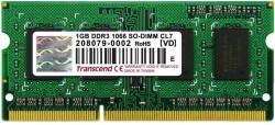 Transcend 1 GB DDR3 1066MHz TS128MSK64V1U