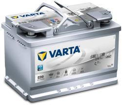 VARTA E39 Silver Dynamic AGM 70Ah 760A Jobb+ (570 901 076)