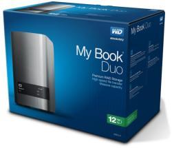 Western Digital MyBook Duo 12TB USb 3.0 WDBLWE0120JCH-EESN