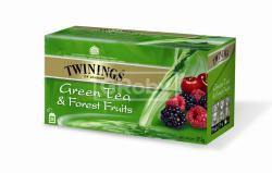 TWININGS Zöld Tea Erdei Gyümölcs 25 filter