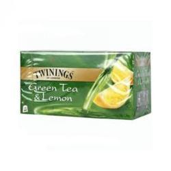 TWININGS Zöld Tea citrommal 25 filter