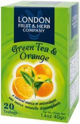 London Fruit & Herb Company Zöld Tea Narancs 20 filter