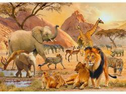 Ravensburger Afrika vadvilága 1000 db-os (19422)