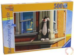 Ravensburger Looney Tunes: Csőrike és Szilveszter 500 db-os (14492)