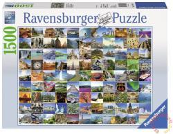 Ravensburger A 99 legszebb hely a Földön 1500 db-os (16319)