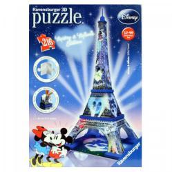 Ravensburger 3D Puzzle - Eiffel torony Mickey & Minnie Edition 216 db-os (12570)