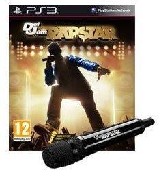 Konami Def Jam Rapstar [Microphone Bundle] (PS3)