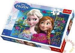 Trefl Jégvarázs: Anna és Elsa 100 db-os (16255)