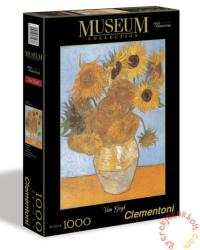 Clementoni Museum Collection - Van Gogh - Napraforgók 1000 db-os (31438)