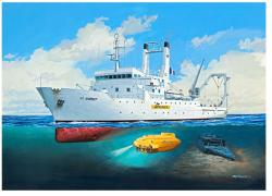 Revell Titanic Searcher Le Suroit 1/200 5131