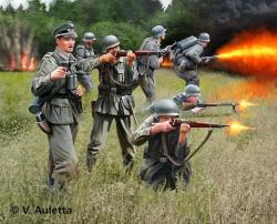 Revell German Infantry WWII 1/32 2630