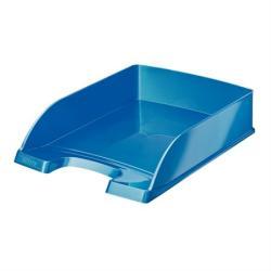 Leitz Wow Irattálca műanyag metál kék (52263036)