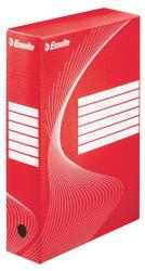 Esselte Standard Archiváló doboz 80 mm A4 karton piros (12841201)