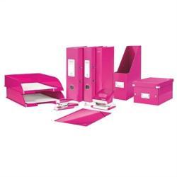 Leitz Wow Gyűrűs dosszié 4 gyűrű 40 mm A4 karton rózsaszín (42420023)
