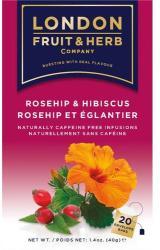 London Fruit & Herb Company Csipkebogyó-hibiszkusz 20 filter