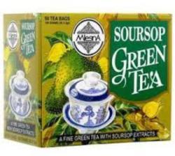 MlesnA Soursop Zöld Tea szálas
