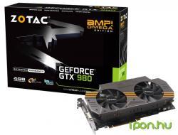 ZOTAC GeForce GTX 980 AMP! Omega Edition 4GB GDDR5 256bit PCIe (ZT-90202-10P)