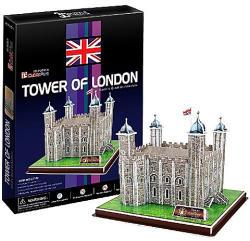 CubicFun Londoni Tower 3D puzzle 40 db-os (C715H)