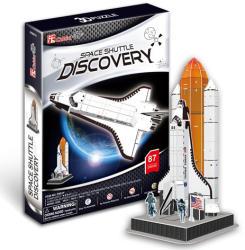 CubicFun 3D Puzzle Discovery űrrepülőgép 87 db-os (P601H)