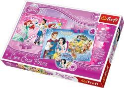 Trefl Disney hercegnők: Hófehérke és Ariel 2 x 50 db-os (16500)