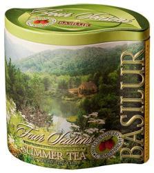 BASILUR Summer Zöld Tea Eper Darabokkal 125 g