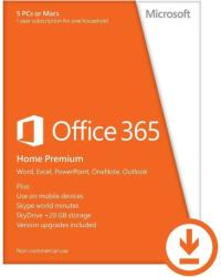 Microsoft Office 365 Home Premium ENG (5 User, 1 Years) 6GQ-00092