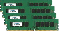 Crucial 16GB (4x4GB) DDR4 2133MHz CT4K4G4DFS8213