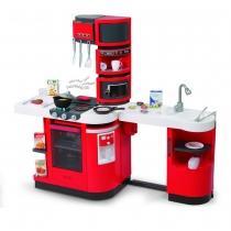 Smoby Cook Master Exkluzív Játékkonyha piros (24250)
