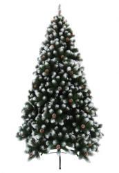 DekorTrend Tirol Pine 150cm - havas, tobozzal (KFB 065)