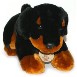 Keel Toys Fekete kiskutya 30cm