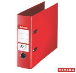 Esselte Standard Vivida Iratrendező 75 mm banki PP/PP élvédő sínnel piros (468930)