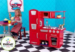 KidKraft Vintage Piros Játékkonyha