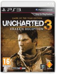Sony Uncharted 3 Drake's Deception [Game of the Year Edition] (PS3)